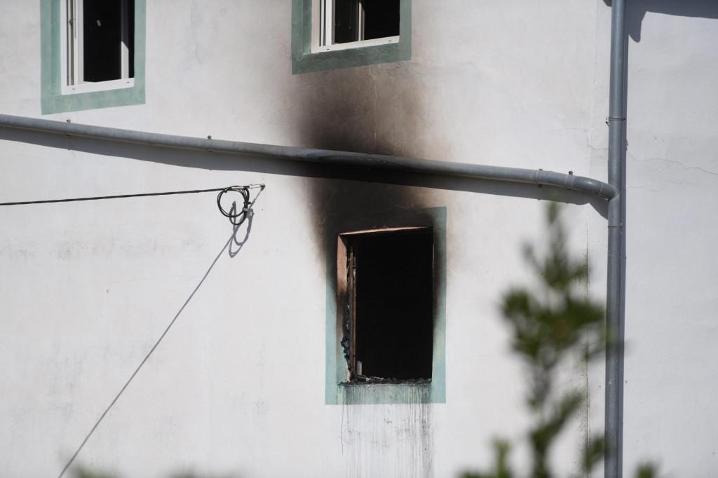 Požaru na kući u Poljicima