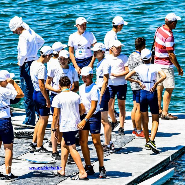 S veslačke regate u Zadru na kojoj su nastupili i članovi šibenske 'Krke'