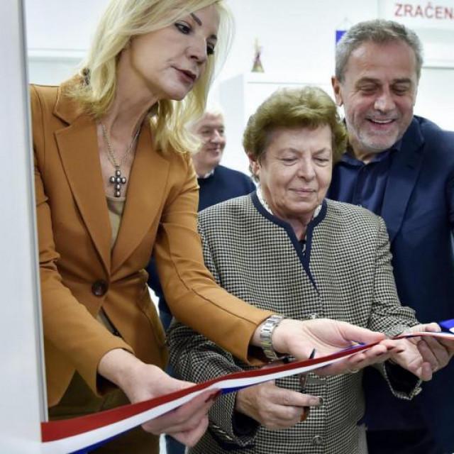 Ana Stavljenić Rukavina i Milan Bandić