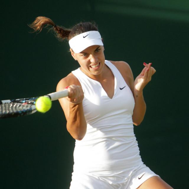 Ana Konjuh u Wimbledonu 2015. godine