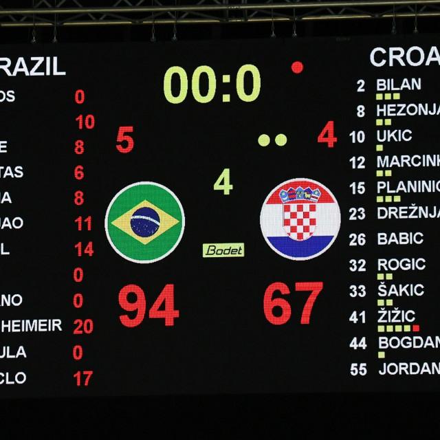 Pogleda na semafor: Brazil - Hrvatska 94:67
