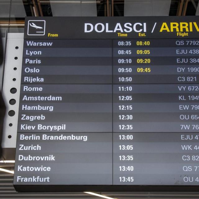 U splitskoj zračnoj luci bez očekivanih problema i gužvi<br />
