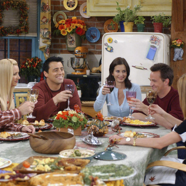 David Schwimmer,Lisa Kudrow, Matt LeBlanc, Courteney Cox,Matthew Perry i Jennifer Aniston u prizoru kultnih 'Prijatelja'