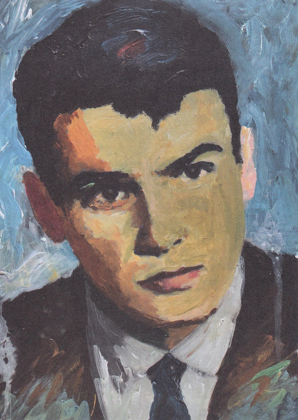 Stojan Vučićević - portret Vatroslava Kuliša