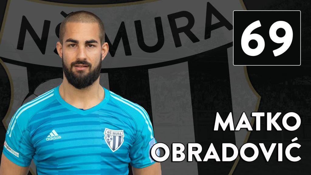Matko Obradović, 30-godišnji Orebićanin, vratar Mure, prvaka Slovenije