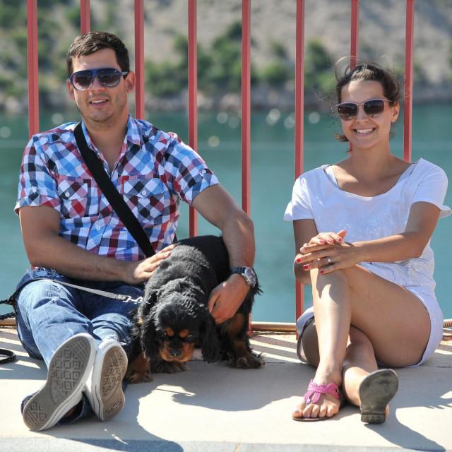 Boris i Doris snimljeni snimljeni 2013. godine na Masleničkom mostu dok još nisu bili u braku.
