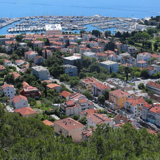 Pogled na južne padine Marjana