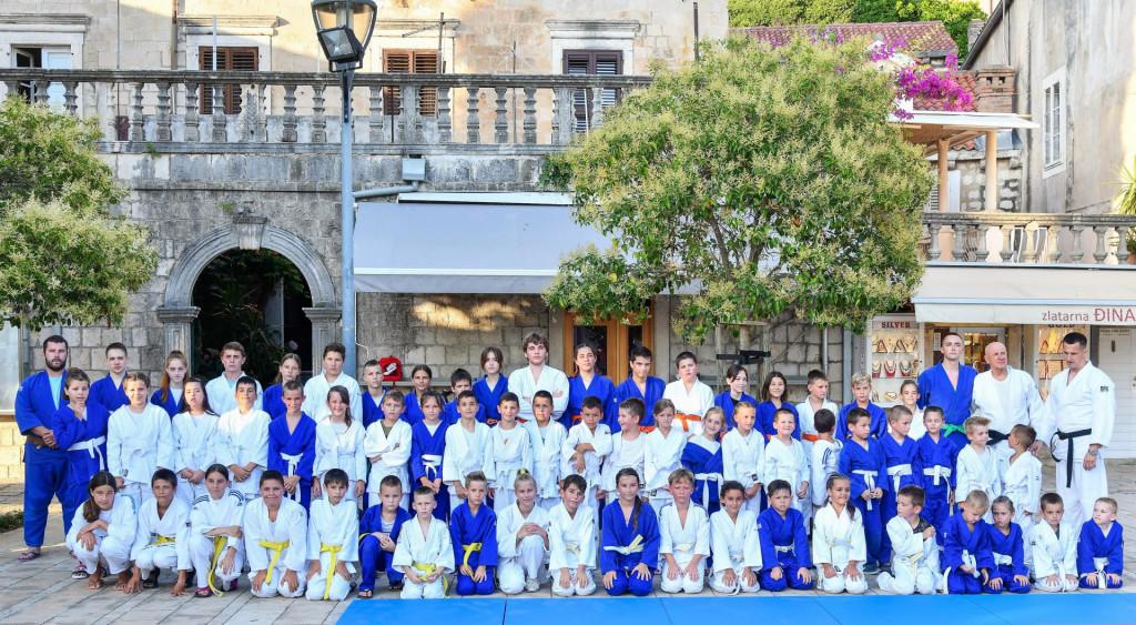 Uoči polaganja pojaseva - Judo kluba Konavle Cavtat