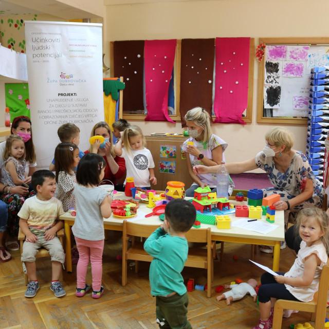 U Dječjem vrtiću Župa dubrovačka održane sve edukacije u sklopu EU projekta