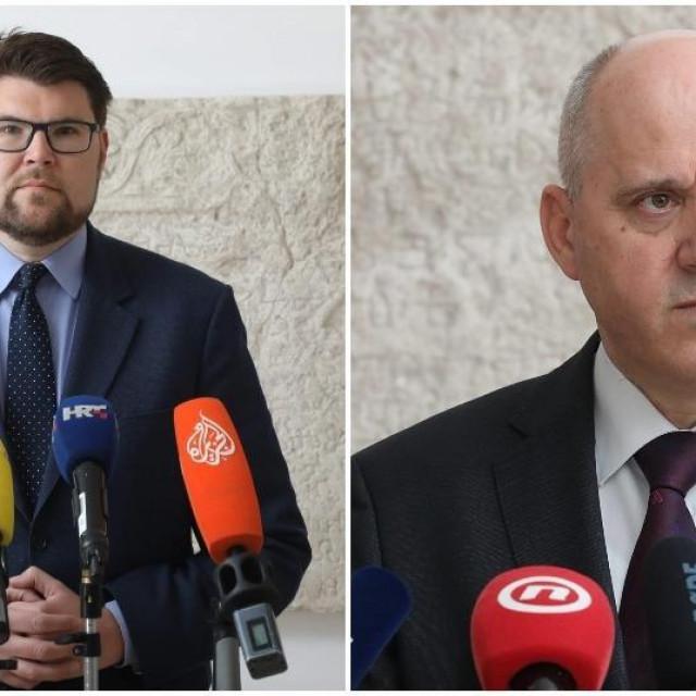 Peđa Grbin i Branko Bačić