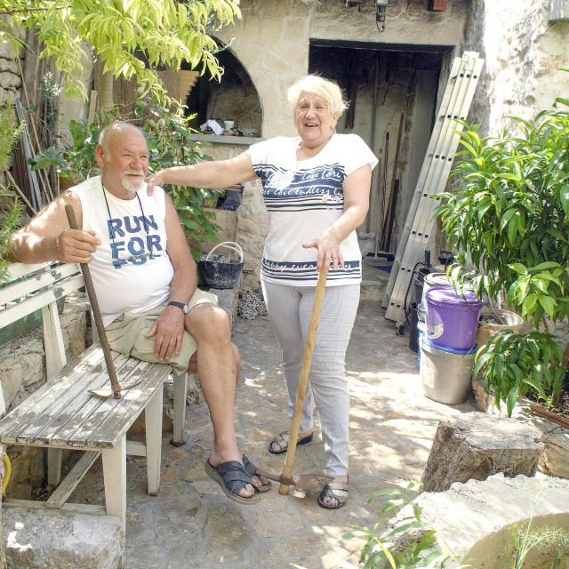 <br /> Vrt gospođe Ljiljane Jurišić i njenog supruga Boška Jurišića.<br />