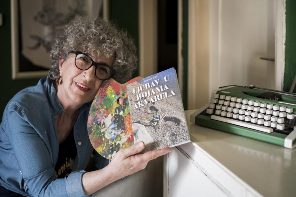 """<br /> Jasminka Antić, autorica romana """"Ljubav u bojama akvarela""""<br />"""