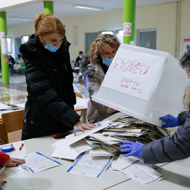 Prizor s jednih od izbora u BiH