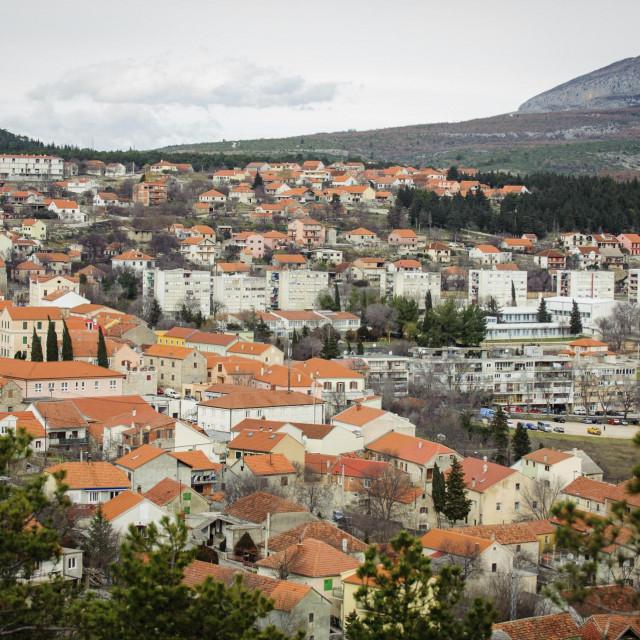 Panorama Drniša