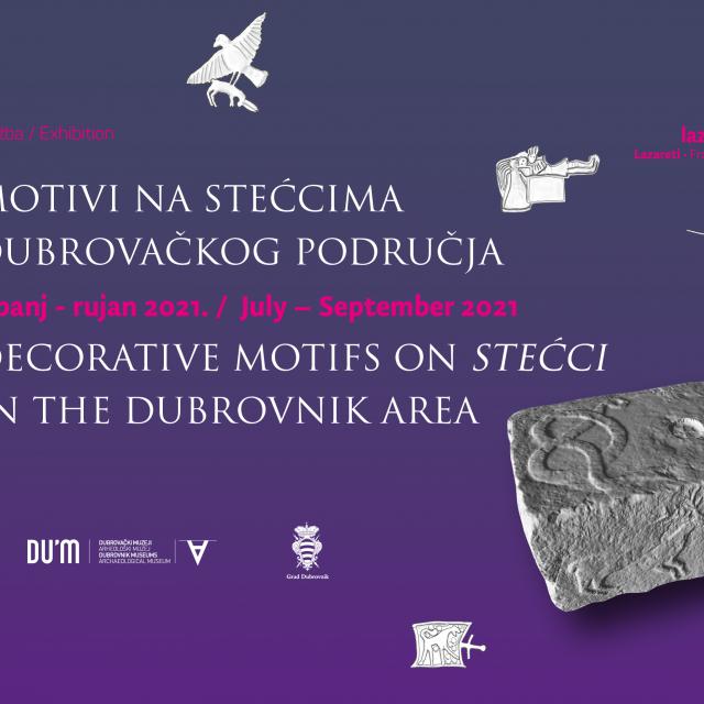 """U Lazaretima se otvara izložba """"Motivi na stećcima dubrovačkog područja"""" autora dr.sc. Domagoja Perkića"""