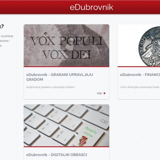 Gradu Dubrovniku ponovno petica za transparentnost proračuna
