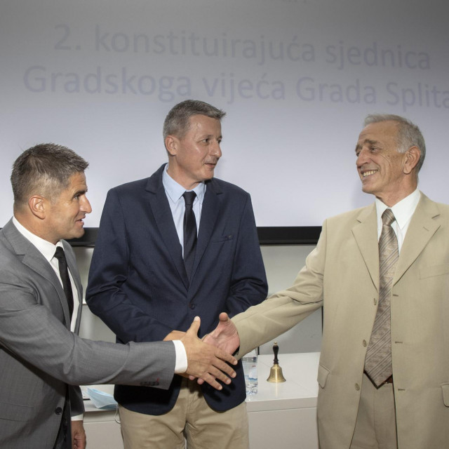 Vice Mihanović, Jakov Prkić i Željko Domazet
