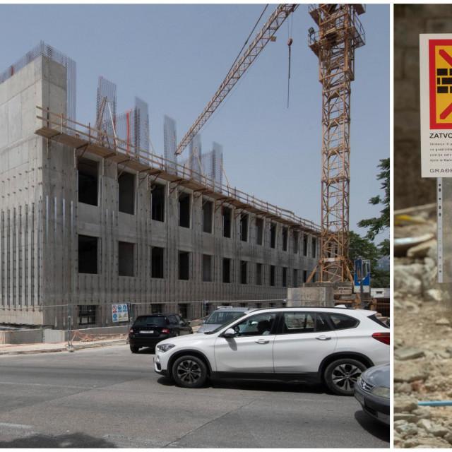 Inspekcija zabranila radove Ministarstvu pravosuđa na zgradi suda u centru Splita