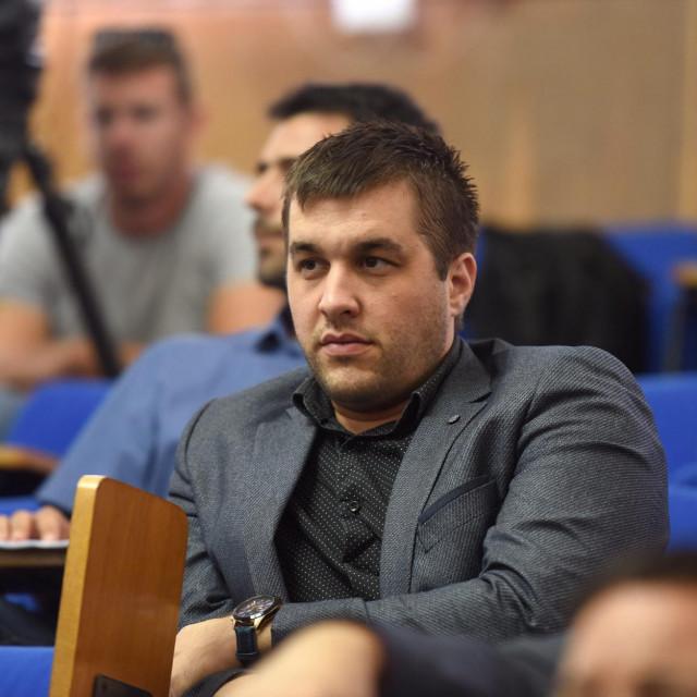 Duje Stanišić, bivši gradski vijećnik Mosta<br />