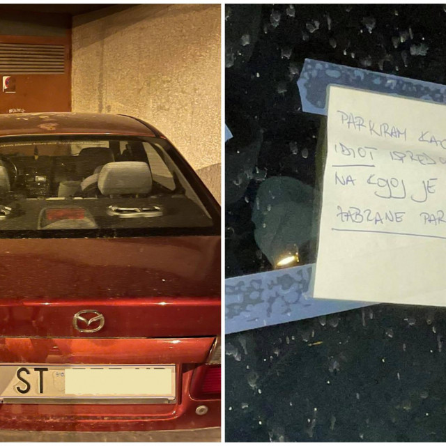 Nepropisno parkiranje u Getaldićevoj