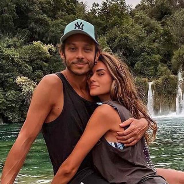 Valentino Rossi s djevojkom Francescom na Skradinskom buku