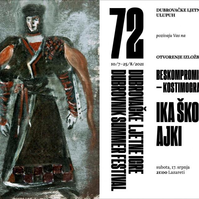 """Otvaranje izložbe """"Beskompromisno svoja"""" u čast velike Ike Škomrlj Ajki"""