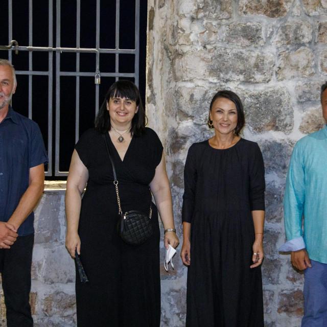 Slijeva: Domagoj Perkić, Zrinka Lucianović, Julijana Antić Brautović i Tonči Daničić