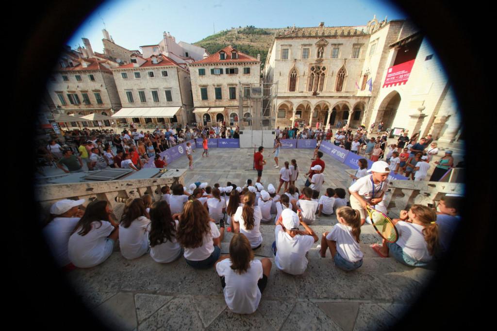 Dubrovnik DUB Bowl - međunarodni teniski turnir navratio je na Stradun