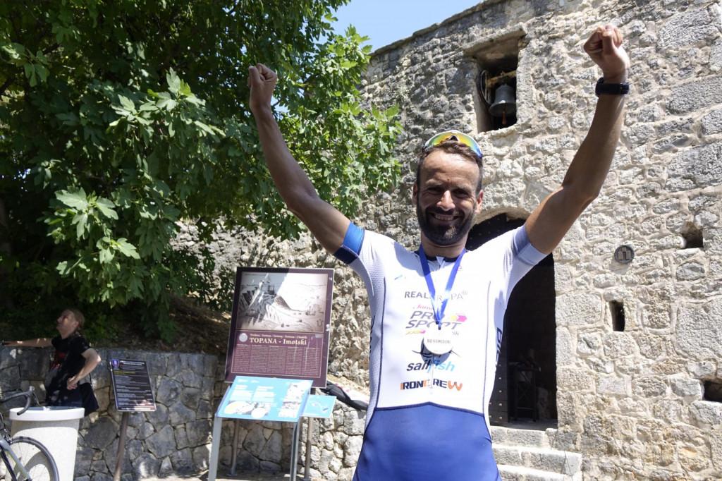 Andrej Vištica je naš najbolji triatlonac