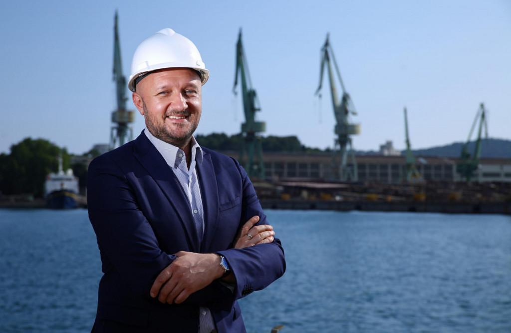 Tomislav Debeljak, vlasnik splitskog brodogradilišta Brodosplit