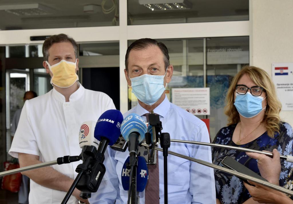 Dr. Ljubo Znaor, dr. Željka Karin i dr. Julije Mestrović