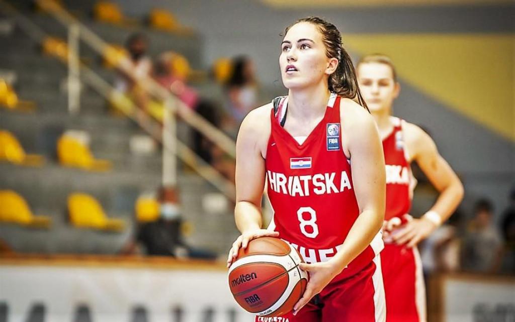 Dubrovkinja Ana Haklička postigla je 19 koševa, imala 9 skokova... protiv Latvije