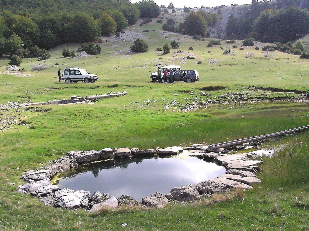 Kod devet bunara, sve živo u planini ovisno je o ovoj vodi
