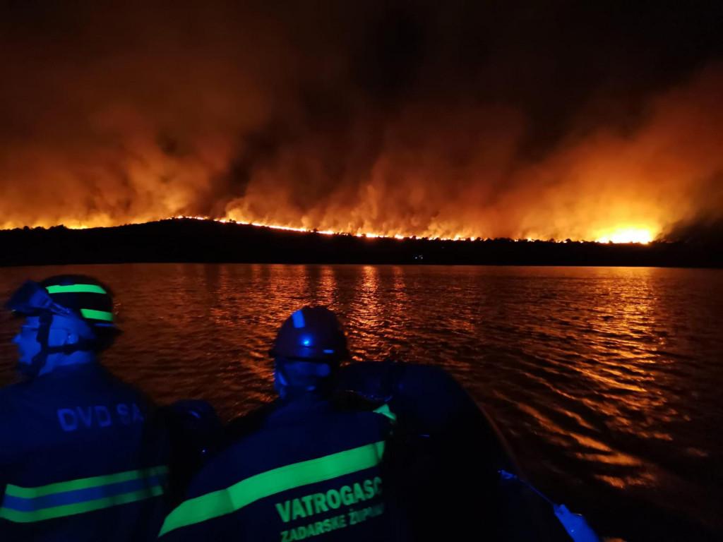 Požar na Lavdari