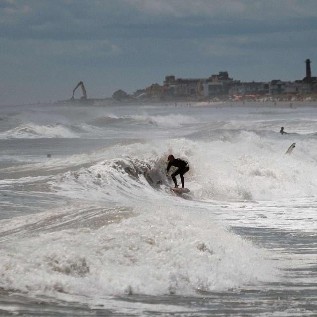 Surfer u New Yorku