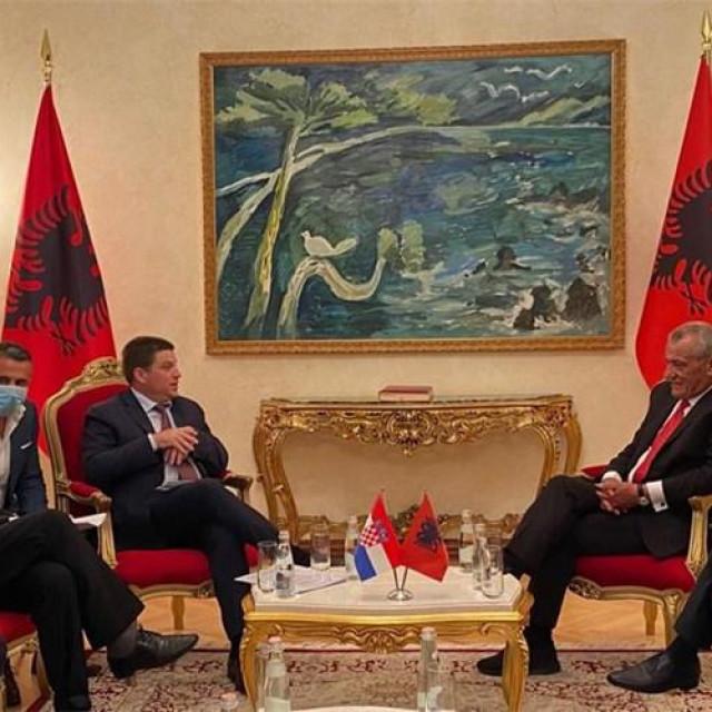 Ministar Butković u Albaniji