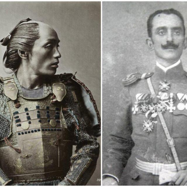 Aleksandar Lekso Staičić imao je istaknutu epizodu u japansko-crnogorskom ratu