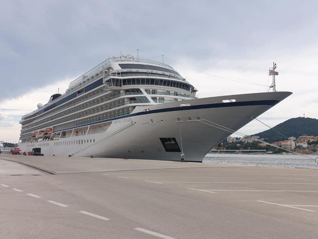 Gradonačelnika Frankovića ohrabrio je današnji posjet kruzera kompanije Viking Cruises