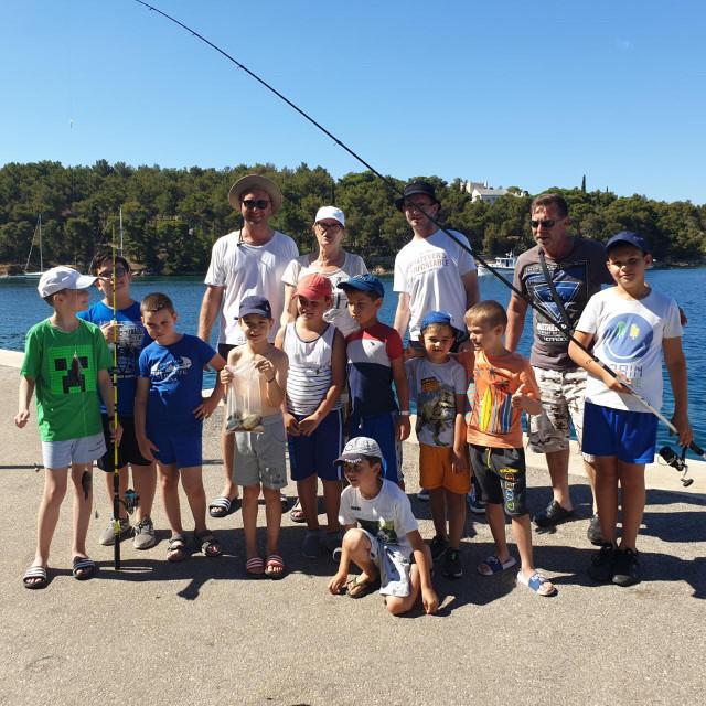 Milna - škola ribolova