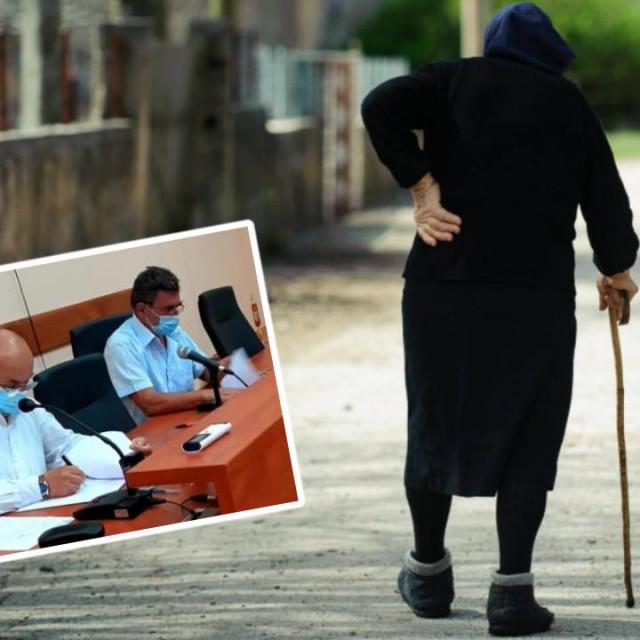 U drniškom kraju ima preko 1800 osoba starijih od 75 godina