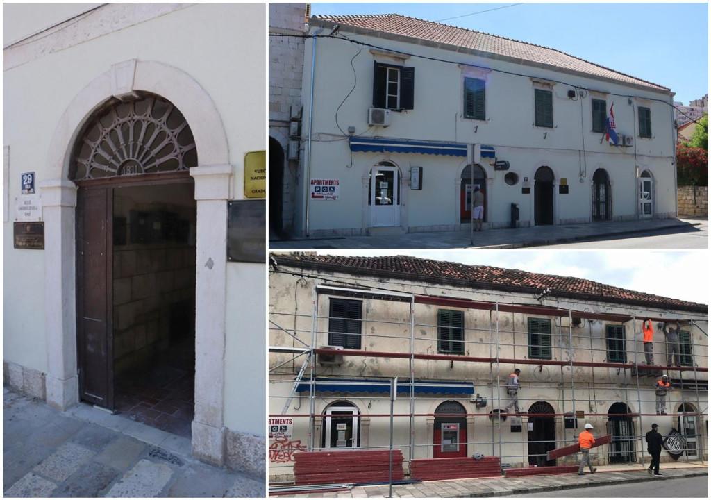 Obnovljeni su krov i pročelje zgrade knjižnice u Gružu
