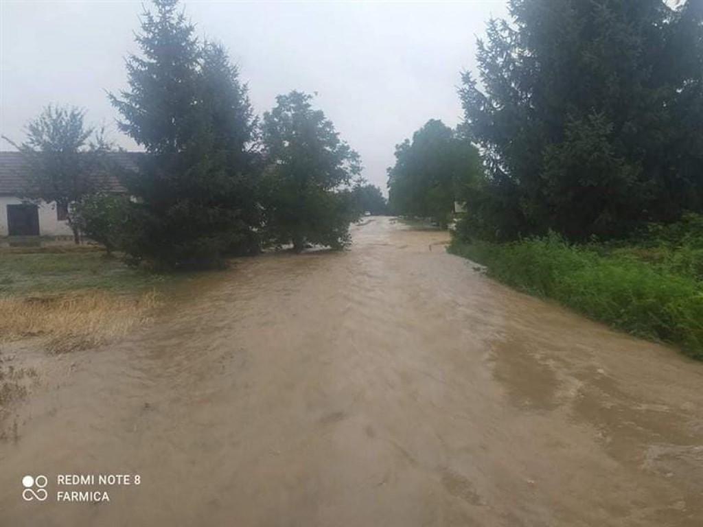 Potop nakon oluje na području Našica