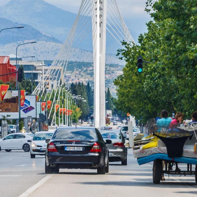 Za vrijeme pandemije koronavirusa, ulice i trgovi glavnog grada Crne Gore su poluprazne