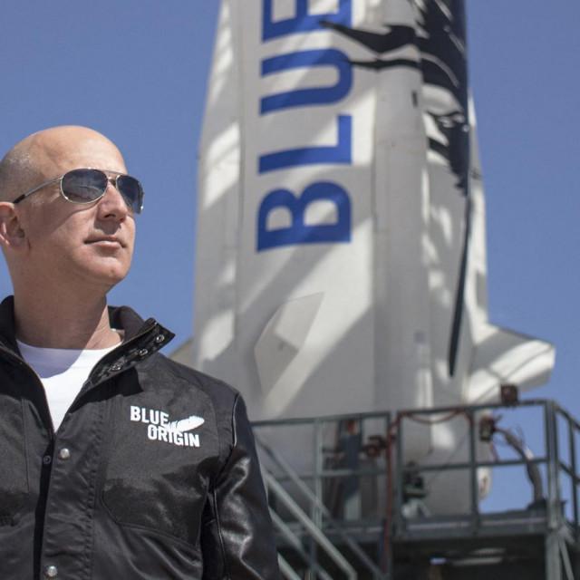 Jeff Bezos:Uzbuđen sam, ali nisam nervozan! Vidjet ćemo kako ću se osjećati kada budem vezan za svoje mjesto