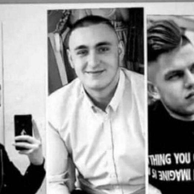 Poginuli mladići, jedan od 22 godine, dvojica od 19