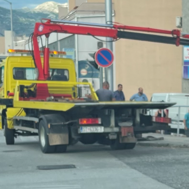 """Pauk je morao intervenirati nakon """"sleta"""" u dvorište ispred Tuša"""