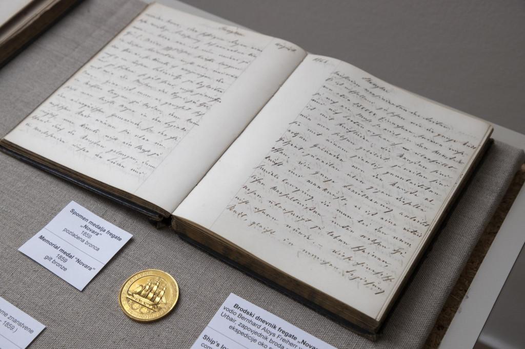 Brodski dnevnik fregate <em>Novara</em>