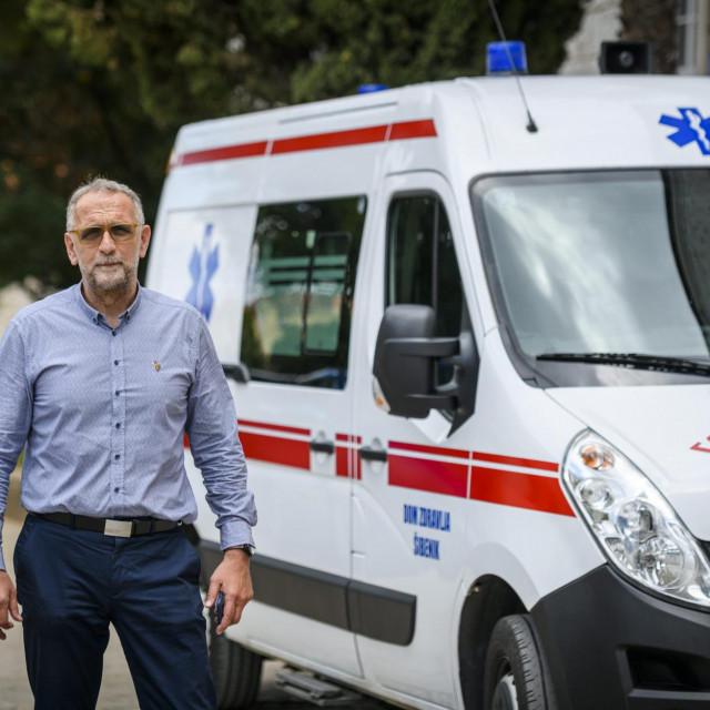 Tomislav Jukić, ravatelj Zavoda za hitnu medicinu Šibensko-kninske županije