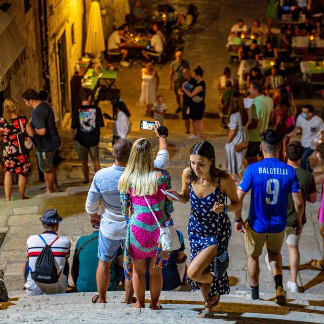 Turisti ponovno pune Grad- prizor s Jezuita<br /> <br />