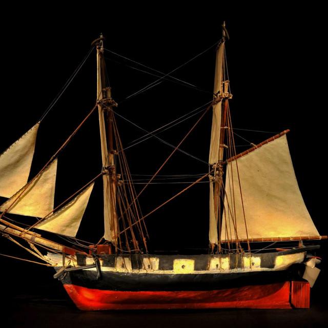 Najstarija hrvatska maketa zavjetnog broda